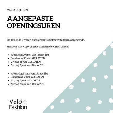 Openingsuren Hemelvaart / Pinksteren