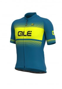 SOLID - BLEND Jersey Azores blue-fluo yellow