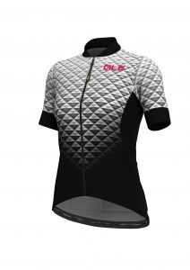 SOLID - HEXA Lady Jersey - Black-white