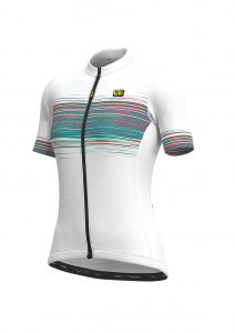 SOLID - START Lady Jersey White-emerald