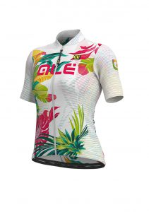 SOLID - TROPIKA Lady Jersey White-multicolor